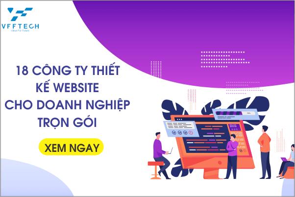 cong ty thiet ke website cho doanh nghiep tron goi