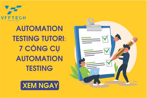 Automation Testing Tutori